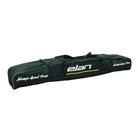 ELAN〔エラン 2台用 スキーケース〕<2021>SKI BAG DOUBLE 3 CJ000918〔BK/GRN〕 20-21 NEWモデル