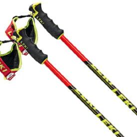 LEKI〔レキ スキー ポール・GSストック〕<2020>VENOM GS 〔ネオンレッド/ブラック〕 【送料無料】 型落ち
