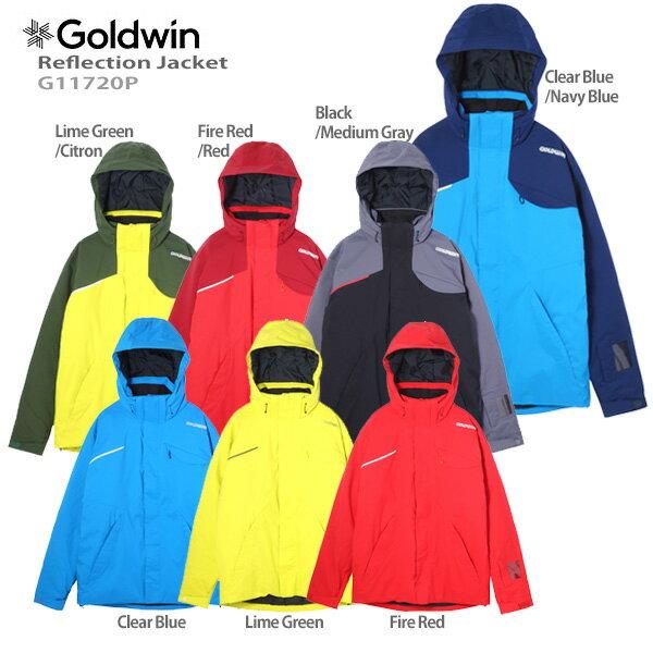 【P5倍!】【あす楽】GOLDWIN〔ゴールドウィン スキーウェア ジャケット〕<2018>Reflection Jacket G11720P〔SA〕