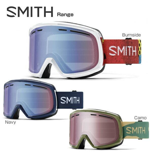 SMITH 〔スミス スキーゴーグル〕<2018>Range〔レンジ〕〔SAG〕