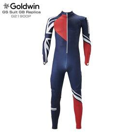 【ウェア全品P5倍!11/30 12:00まで】GOLDWIN ゴールドウィン スキー ワンピース 2020 GS Suit GB Replica G21900P 19-20 〔SA〕【HJRB】