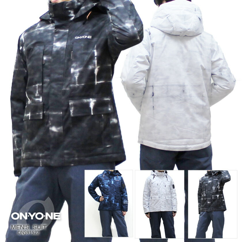 【P5倍!】【あす楽】ON・YO・NE〔オンヨネ スキーウェア メンズ〕<2019>MEN'S SUIT ONS91522〔上下セット〕 MEN