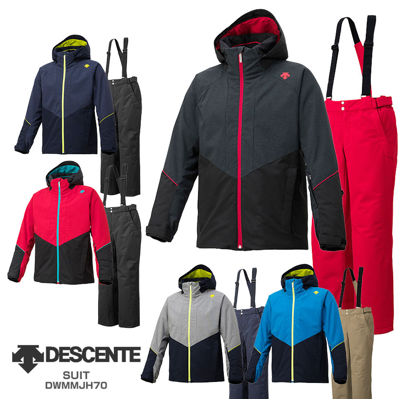 DESCENTE〔デサント スキーウェア メンズ〕<2019>SUIT / DWMMJH70【上下セット 大人用】【送料無料】 MEN