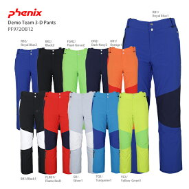 PHENIX フェニックス スキーウェア パンツ 2020 Demo Team 3-D Pants PF972OB12 【L-74〜XXL】【エクストラサイズ】 【技術選着用モデル】 送料無料 19-20 NEWモデル