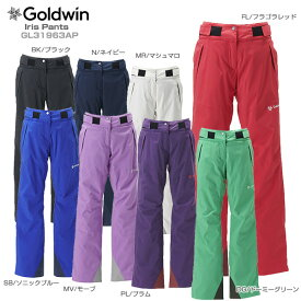 【19-20NEWモデル】GOLDWIN〔ゴールドウィン スキーウェア レディース パンツ〕<2020>Iris Pants GL31963AP【技術選着用モデル】【送料無料】