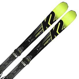 K2〔ケーツー スキー板〕<2018>Konic 78〔コニック 78〕M3 10 + M3 COMPACT BLACK-YELLOW【金具付き・取付送料無料】〔SA〕【RSS】