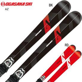 【19-20NEWモデル】【予約受付中】OGASAKA〔オガサカ スキー板〕<2020> AZ〔エーゼット〕+ マーカー FDT TLT 10【金具付き・取付送料無料】