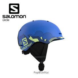 【19-20 NEWモデル】SALOMON〔サロモン ジュニア スキーヘルメット〕<2020>GROM 子供用