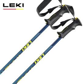 LEKI レキ ジュニア キッズ スキー ポール・ストック 2021 VARIO XS ブルーメタリック 【伸縮式ストック】 子供用 20-21 NEWモデル