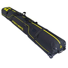 FISCHER フィッシャー 2台用 スキーケース 2021 SKICASE ALPINE 2 PAIR RACE WHEELS / Z11818 20-21 NEWモデル
