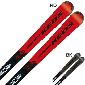 【19-20NEWモデル】【予約受付中】OGASAKA〔オガサカ スキー板〕<2020>KEO'S〔ケオッズ〕KS-GP + FM-600 + <20>XCELL 12.0 BK/FLRED【金具付き・取付送料無料】