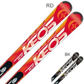 【19-20NEWモデル】【予約受付中】OGASAKA〔オガサカ スキー板〕<2020>KEO'S〔ケオッズ〕KS-RT + FM-600 + <20>XCELL 12.0 BK/FLRED【金具付き・取付送料無料】