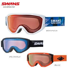 【19-20 NEWモデル】SWANS〔スワンズ スキーゴーグル〕<2020>634-MPDH-PAF