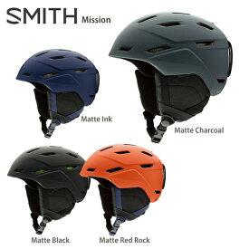 【39ショップ限定!エントリーでP2倍 8/9 1:59まで】SMITH スミス スキーヘルメット 2020 Mission ミッション 19-20【X】