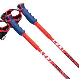 【ポイント5倍!】【19-20早期予約】LEKI〔レキ スキー ポール・ストック〕<2020>SPITFIRE VARIO S 〔ブルーメタリック〕【伸縮式ストック】