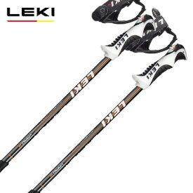 LEKI レキ ジュニア キッズ スキー ポール・ストック 2021 DRIFTER VARIO S ブラック 【伸縮式ストック】 子供用 20-21 NEWモデル