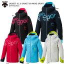 スキー ウェア DESCENTE デサント レディース ジャケット 2020 LADIES' S.I.O JACKET 60 MOVE SPORT / DWWOJK81 19-2…