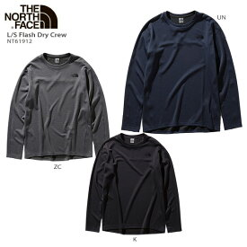 THE NORTH FACE〔ザ・ノースフェイス アンダーシャツ メンズ〕<2020>L/S Flash Dry Crew / NT61912 19-20 NEWモデル