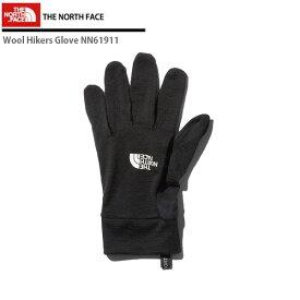 THE NORTH FACE〔ザ・ノースフェイス インナーグローブ〕<2020>Wool Hikers Glove / NN61911