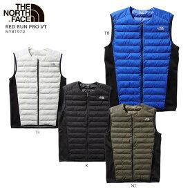 THE NORTH FACE〔ザ・ノースフェイス ミドルレイヤー メンズ ダウン ベスト〕<2020>Red Run Pro Vest〔レッドランプロベスト〕NY81972 19-20