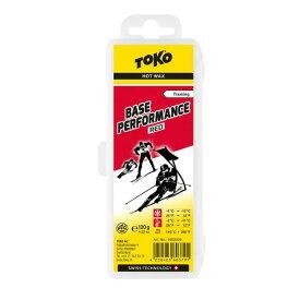 TOKO トコ ワックス Base Performance レッド 120g 5502036 固形 スキー スノーボード スノボ