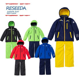 RESEEDA〔レセーダ スキーウェア ジュニア キッズジュニアスキーウェア 〕<2019> JUNIOR SUITS/RES71004 【上下セット ジュニア】〔SA〕