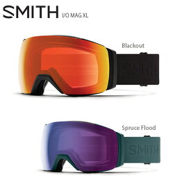 ゴーグル SMITH スミス 2021 I/O MAG XL アイオーマグXL 【眼鏡・メガネ対応ゴーグル】【調光】【スペアレンズ付】【ASIAN FIT】 20-21 NEWモデル スキー スノーボード【hq】