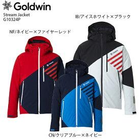 3/5限定エントリーで最大P25倍 スキー ウェア GOLDWIN ゴールドウィン ジャケット 2021 G10324P Stream Jacket ストリームジャケット 20-21 NEWモデル