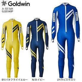 【ウェア全品P5倍!11/30 12:00まで】GOLDWIN ゴールドウィン ジュニア GSワンピース <2021>GJ20340P Jr. GS Suit ジュニア GSスーツ NEWモデル