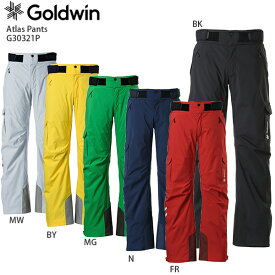 スキー ウェア GOLDWIN ゴールドウィン パンツ 2021 G30321P Atlas Pants アトラスパンツ 20-21 NEWモデル