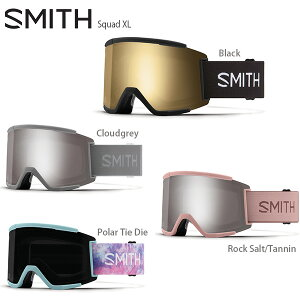 ゴーグル SMITH スミス 2021 Squad XL スカッドXL スペアレンズ付 ASIAN FIT 20-21 旧モデル スキー スノーボード