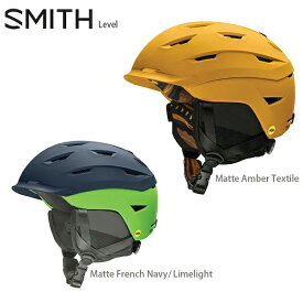 【エントリーで最大25倍!1/20限定】ヘルメット SMITH スミス 2021 Level Mips レベル 20-21 NEWモデル スキー スノーボード
