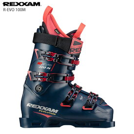 スキーブーツ REXXAM レクザム <2021>R-EVO 100M R エヴォ 100M 20-21 NEWモデル メンズ レディース