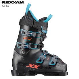 スキーブーツ REXXAM レクザム <2021>XX-8.0 クロス 8.0 20-21 NEWモデル メンズ レディース