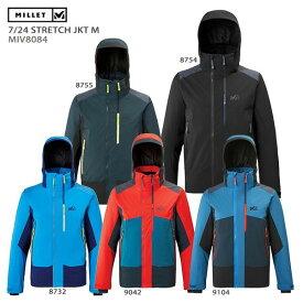 スキー ウェア MILLET ミレー ジャケット メンズ 2020 7/24 STRETCH JKT M/MIV8084 19-20 旧モデル 旧モデル