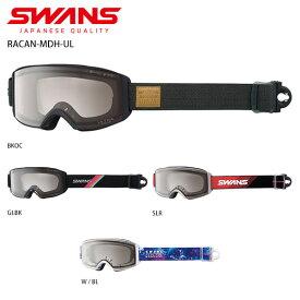 ゴーグル SWANS スワンズ 2021 RACAN-MDH-UL ラカン-MDH-UL ASIAN FIT 眼鏡・メガネ対応ゴーグル 20-21 旧モデル スキー スノーボード