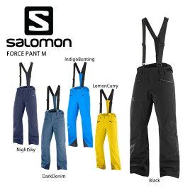 3/5限定エントリーで最大P25倍 SALOMON〔サロモン スキーウェア パンツ〕<2021> LC1403400 / FORCE PANT M〔フォースパンツ〕