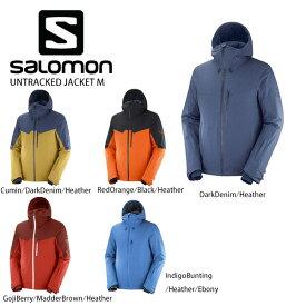 3/5限定エントリーで最大P25倍 SALOMON〔サロモン スキーウェア ジャケット〕<2021> LC1402300 / UNTRACKED JACKET M〔アントラックドジャケット〕