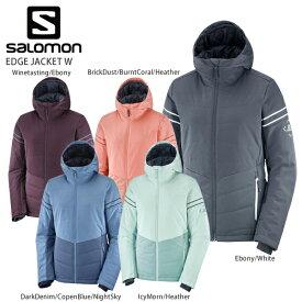 【タイムセール3/11 1:59まで】SALOMON〔サロモン スキーウェア レディース ジャケット〕<2021> LC1384200 / EDGE JACKET W〔エッジジャケット〕