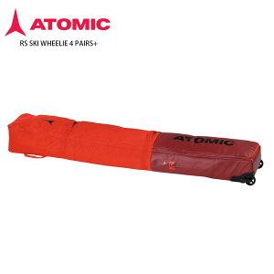 ATOMIC アトミック 4台用 スキーケース <2022> RS SKI WHEELIE 4 PAIRS+ 21-22 NEWモデル【NEWモデル21-22】