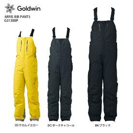 GOLDWIN 〔ゴールドウイン スキーウェア ビブ〕<2022>ARRIS BIB PANTS/G31300P 【GORE-TEX】【NEWモデル21-22】【MUJI】