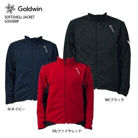 GOLDWIN 〔ゴールドウイン スキーウェア ジャケット〕<2022>SOFTSHELL JACKET/G50300P【NEWモデル21-22】