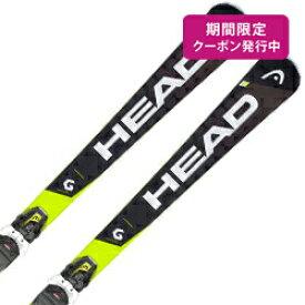 【期間限定送料無料クーポン】HEAD〔ヘッド スキー板〕<2019>SUPERSHAPE I.SPEED + PRD 12 GW【金具付き・取付送料無料】〔SA〕【TN1】【RSS】