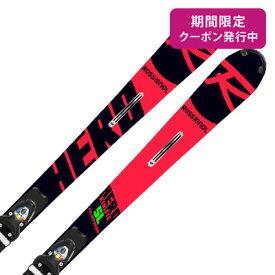 【期間限定送料無料クーポン】ROSSIGNOL ロシニョール スキー板 2020 HERO ATHLETE FIS SL R22 + SPX 15 ROCKER RACE BLOCKER Black Icon 金具付き・取付送料無料 19-20 NEWモデル