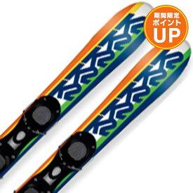 【エントリーでP10倍 26日1:59まで】K2 ケーツー ショートスキー板 2020 FATTY ファッティー 金具付き SA 19-20 NEWモデル