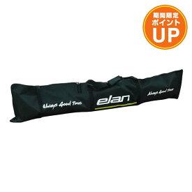 【エントリーでP10倍 26日1:59まで】ELAN エラン 1台用 スキーケース 2020 SKI CASE JP 2 CJ000415 BK/GRN 19-20 NEWモデル