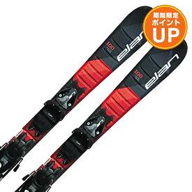【エントリーでP10倍 26日1:59まで】ELAN エラン ジュニアスキー板 2020 MAXX BLK RED QUICK SHIFT + EL 4.5 GW AC SHIFT 金具付き・取付料無料 19-20 NEWモデル