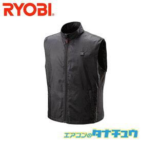 RYOBI  BHV-BL(B1) 充電式ヒートベスト サイズ:L カラー黒 バッテリー付 (即納在庫有) (/BHV-BL-B1/)