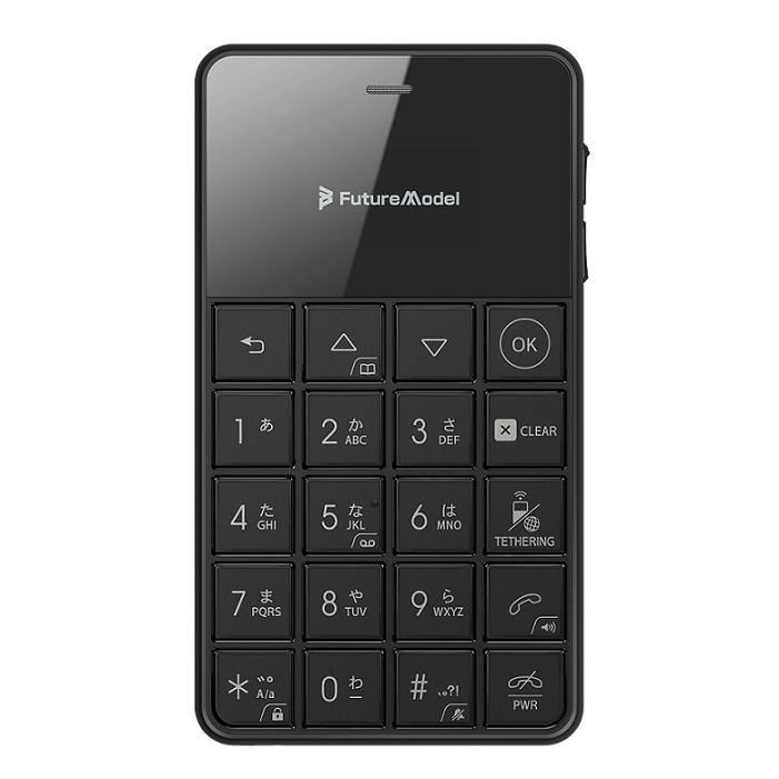 Future Model フューチャーモデル NichePhone-S-4G ブラック 「MOB-N18-01-BK」 シムフリー携帯電話 SIMフリー ニッチホン【viberDLで2000円OFFクーポンプレゼント!】