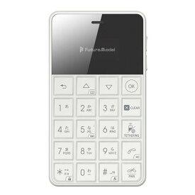 【RSL】Future Model フューチャーモデル NichePhone-S-4G ホワイト 「MOB-N18-01-WH」 シムフリー携帯電話 SIMフリー ニッチホン【本州・四国は送料無料】